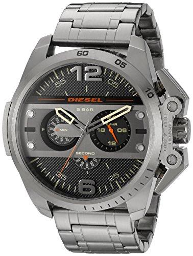 Diesel Men s DZ4363 Ironside Analog Display Analog Quartz Grey Watch