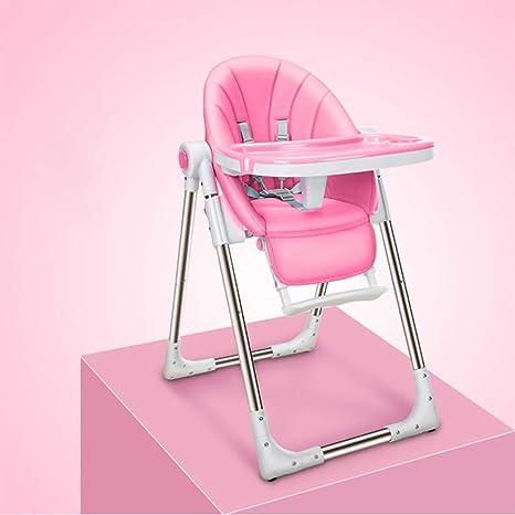 Silla Plegable Moderna Tronas Para Bebés Con Bandeja Cinturón De Seguridad Alimentación Altura Del Asiento Ajustable