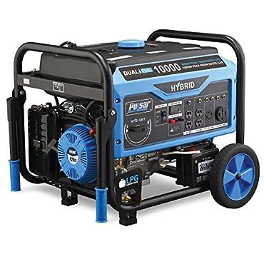Pulsar PG10000B16  10,000 Watt Portable Dual-Fuel Generator