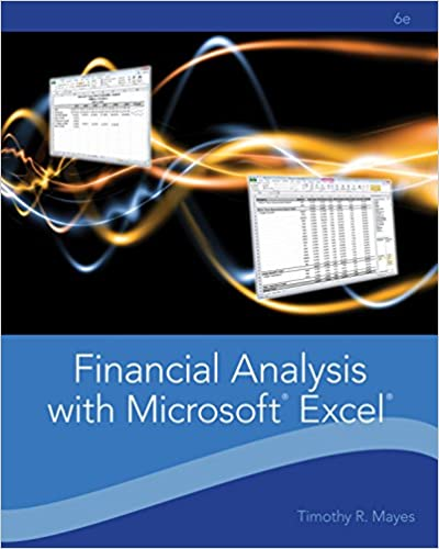 Financial analysis with microsoft excel 006 timothy r mayes todd financial analysis with microsoft excel 006 timothy r mayes todd m shank ebook amazon fandeluxe Images