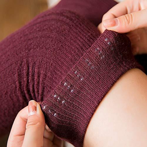 SUZNUO //Calze Lunghe/Invernali da Donna Calde e Spesse/Calze in Cashmere sopra Il Ginocchio Calze Autoreggenti Calze Lunghe da Bambina