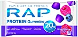 RAP Protein Gummyes, Mixed Berry, 2.82 Ounce (Pack of 5)