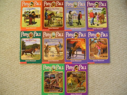 (Pony Pals Set 11-20 (Circus Pony~Keep Out Pony~Girl Who Hated Ponies~Pony-Sitters~Blind Pony~Missing Pony Pal~Detective Pony~Saddest Pony~Moving Pony~Stolen Ponies))