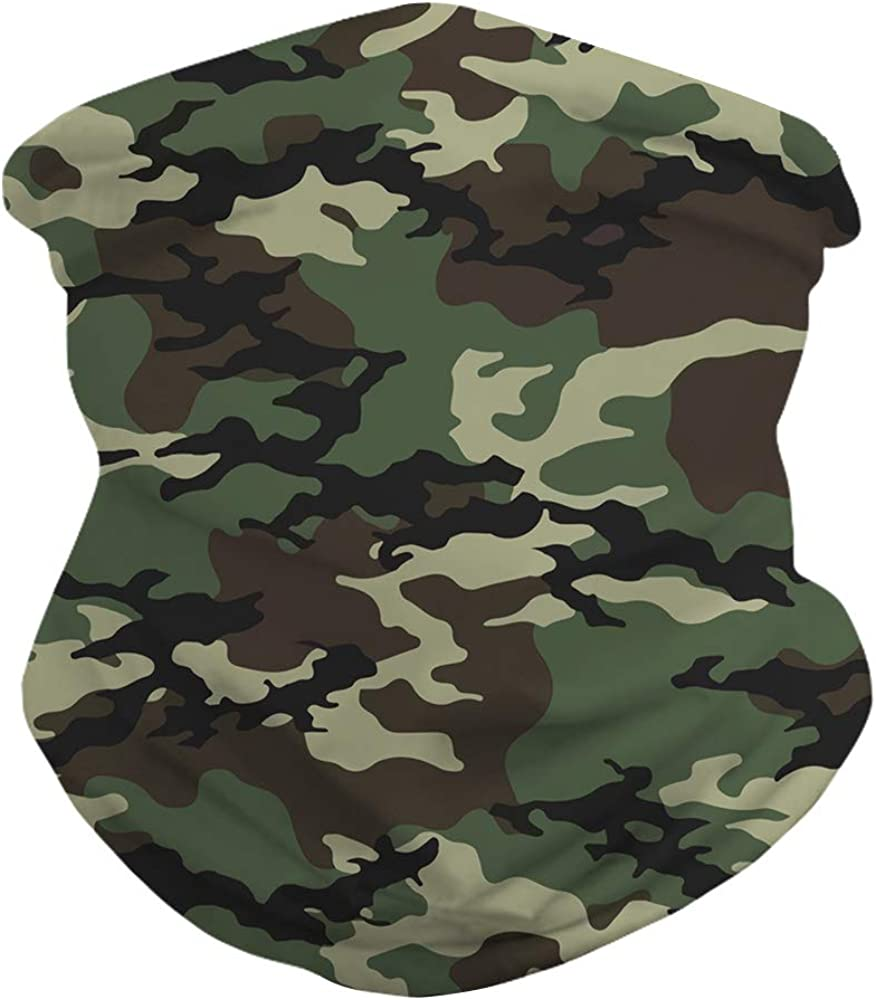 JooMeryer Rave Face Mask Bandana for Men Women Neck Gaiter Head Wrap Scarf Sun Dust Wind Balaclava Headwear