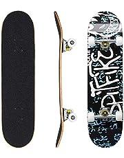 الواح تزلج، لوح تزلج من 7 طبقات، الواح مابل ديك ستاندرد للمبتدئين والمحترفين والفتيان والفتيات والشباب والمراهقين والبالغين للرياضة الخارجية (79 سم×20سم)