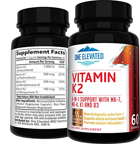 Vitamin k1 and k2 supplements