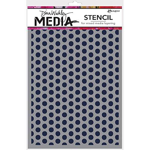 Dino Dots - Ranger MDS52432 Dina Wakley Media Stencils 9