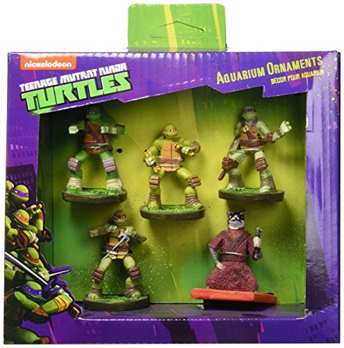 Penn-Plax TMNT1A 5 Piece Gift Pack Ornament
