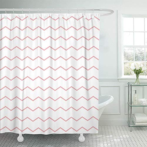 Emvency Shower Curtain Waterproof Polyester Fabric 72 x 78 i