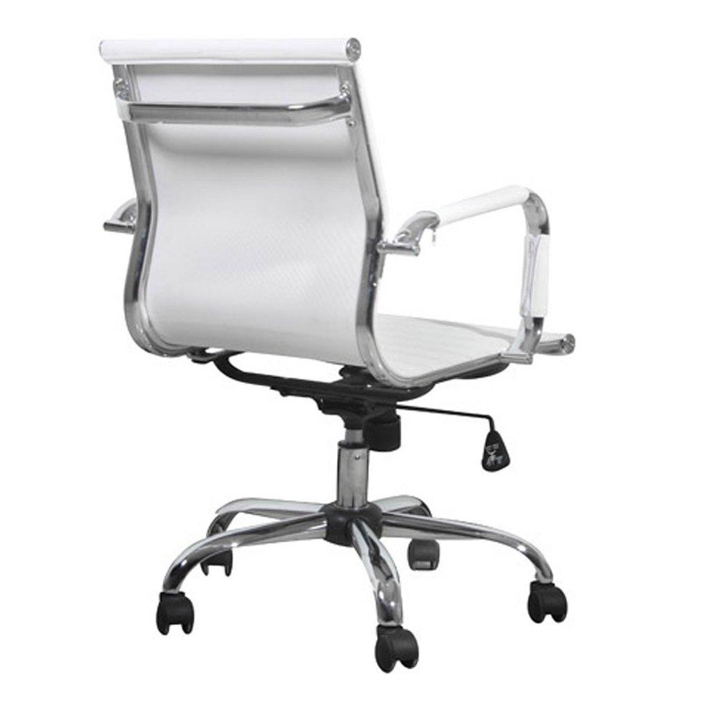 Bürostuhl Modern vidaxl leder chefsessel chrom drehstuhl bürostuhl büro stuhl