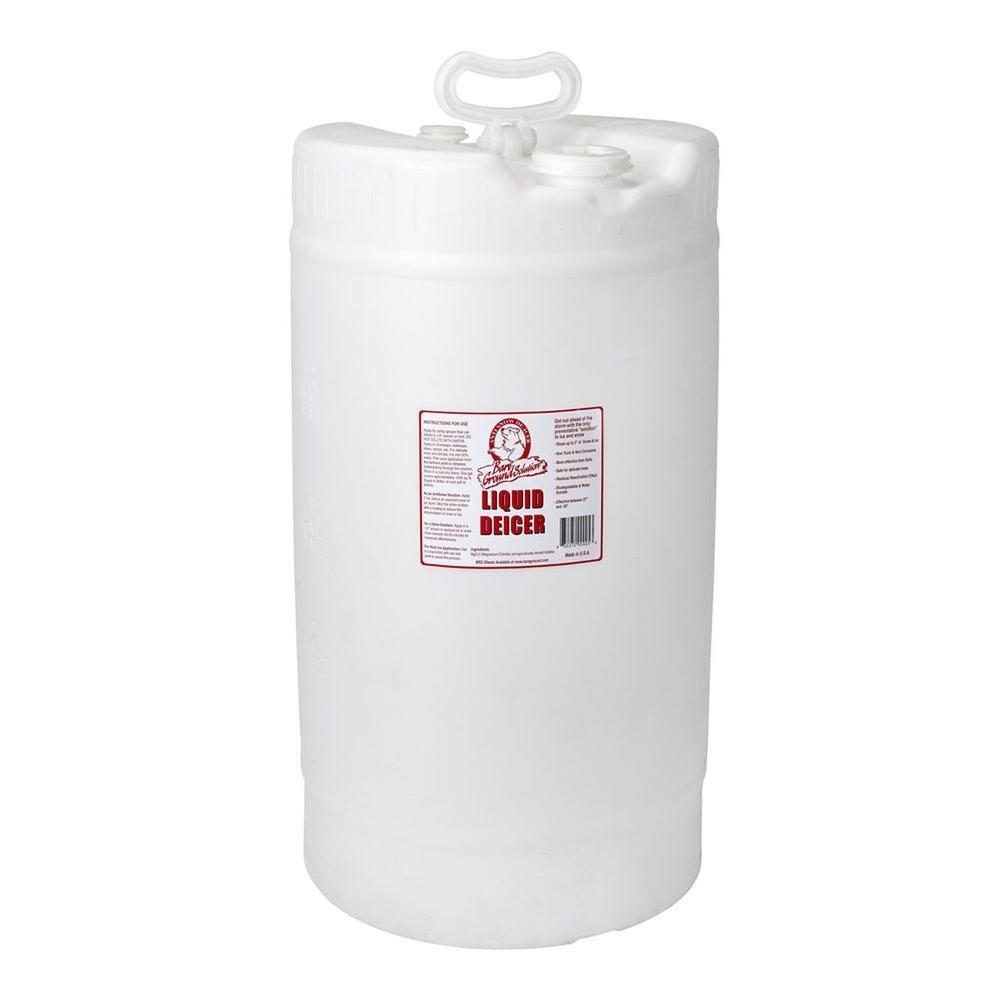 Bare Ground BG-15D All Natural Anti-Snow Liquid De-Icer, 15 Gallons