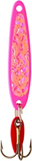 product image for Bay De Noc 5PINKICE 1-7/8-Inch Swedish Pimple Jig, 1/3-Ounce, Crushed Ice/Pink Ice