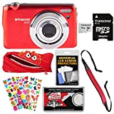 Polaroid iEX29 18MP 10x Digital Camera (Red) with 16GB Card + Case + Strap + Puffy Stickers + Kit Review