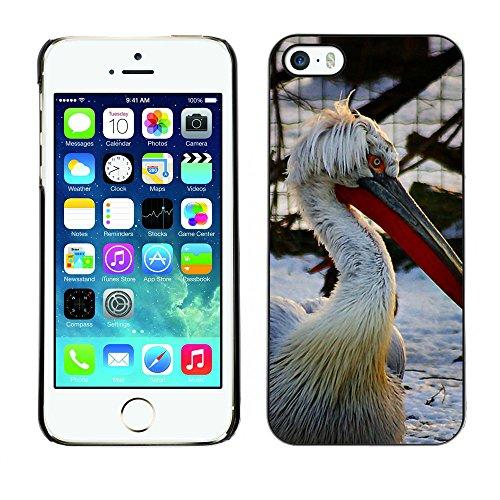 Premio Sottile Slim Cassa Custodia Case Cover Shell // F00016131 Pelikan // Apple iPhone 5 5S 5G