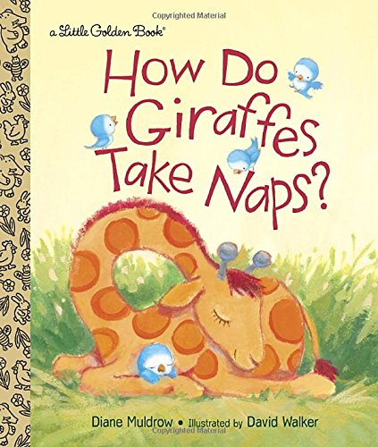 How Do Giraffes Take Naps? (Little Golden Book)