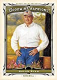 Nolan Ryan baseball card (Texas Rangers) 2013 Upper Deck Goodwin Champions #141
