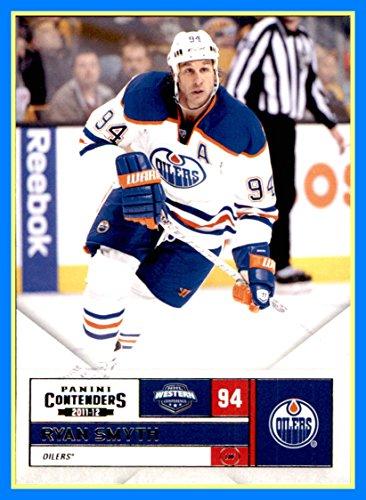 Ryan Smyth Hockey - 2011-12 Panini Contenders NHL Hockey Card #94 Ryan Smyth edmonton oilers