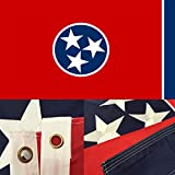 Tennessee State Flag 3x5 Ft with Double Sided Review and Comparison