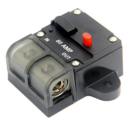 Fuse Holder Video Inline Switch Audio Circuit Black Audio System Solar Energy