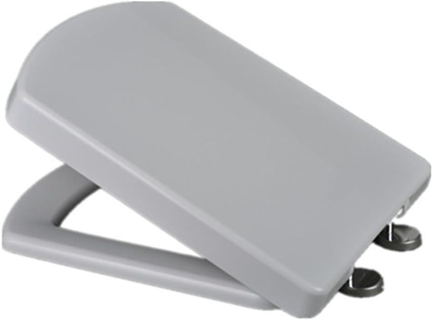 Home Standard/® Abattant WC rond /à d/égagement rapide /à fermeture douce Blanc