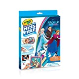 Crayola Color Wonder Glitter Kit, Frozen, Mess Free Colouring, Washable, No Mess, for Girls and Boys, Gift for Boys and Girls, Kids, Ages 3, 4, 5,6 and Up, Summer Travel, Cottage, Camping, on-the-go,  Arts and Crafts,  Gifting
