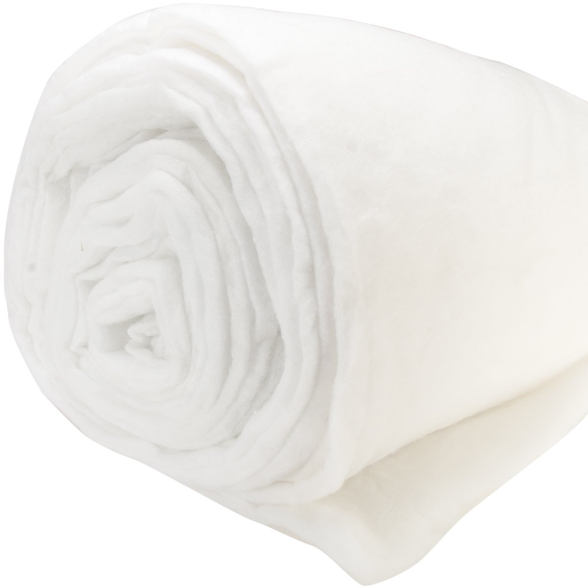 Polyester Batting Medium To High Loft 12oz Per Yard-Double Rolled 100X25 Yards Notions - In Network MS12D