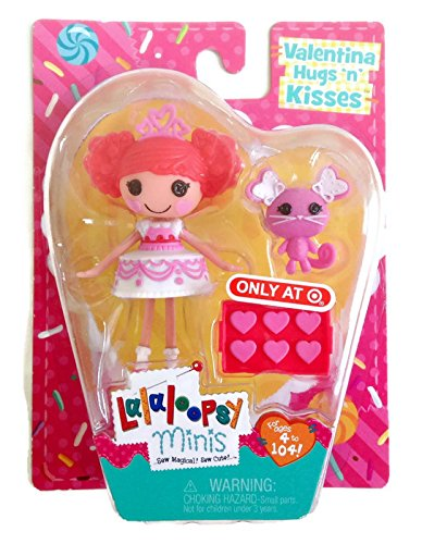 Lalaloopsy Minis 2015 Valentines Day Target Exclusive - Valentina Hugs N Kisses (Pillows Easter Target)