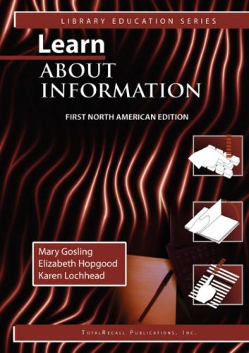 LEARN ABOUT INFORMATION, FIRST NORTH AMERICAN EDITION