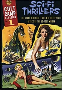Cult Camp Classics, Vol. 1: Sci-Fi Thrillers (Attack of the 50 Ft. Woman / Giant Behemoth / Queen of Outer Space) (Sous-titres français)