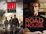 Patrick Swayze MANIA - Red Dawn & Road House - 2-DVD Bundle