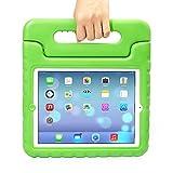 Apple iPad Mini Kids Case,Ocuya Kiddie Series Shockproof Case Light Weight Case With Handle for Apple iPad Mini 3/2/1 (iPad mini, Green)