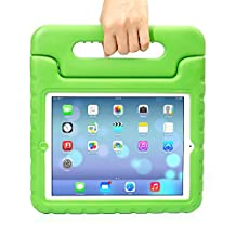 Apple iPad Mini Kids Case,Ocuya Kiddie Series Shockproof Case Light Weight Case With Handle for Apple iPad Mini 3/2/1 (iPad mini, Green)