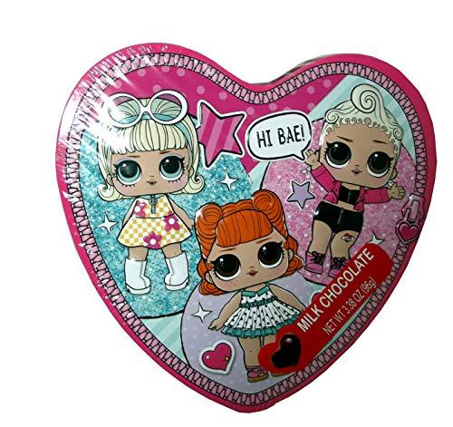 LOL Surprise Heart Tin Chocolate
