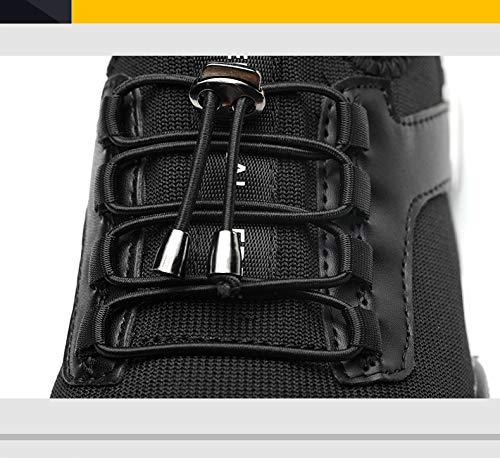 Scarpe Antinfortunistiche Unisex Punta in Acciaio Scarpe Sportive di Sicurezza Leggero e Traspirante Scarpe Sportive YSJD Scarpe da Lavoro
