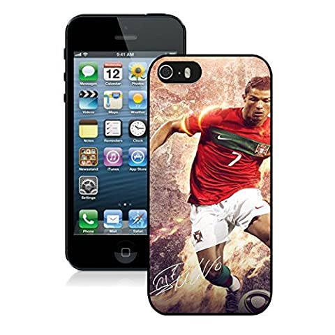Custom Cover Football Real Madrid CF Cristiano Ronaldo CR7 for Ipod touch 6 Hard Plastic Case (Ipod 4 Cases Cr7)