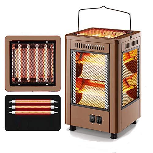 Elektrische Kachel Voor Buiten, Vijfzijdige Kachel, Automatische Roterende Elektrische Oventafel, Draagbare Elektrische…