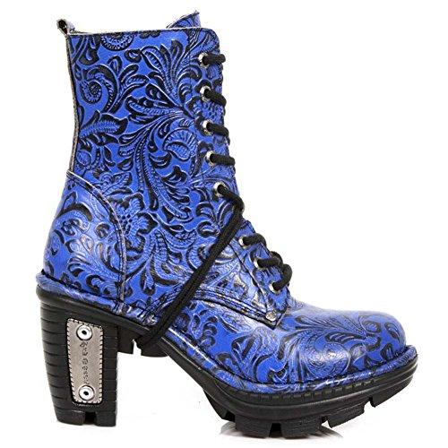M.NEOTR006-S2 DRAMA BLUE, NEOTRAIL BLACK Blue