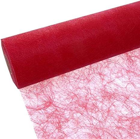 1 Meter Sizoweb Tischband flieder 300 mm breit