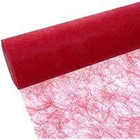 Deko AS GmbH sizo Flor Banda Mesa Rojo