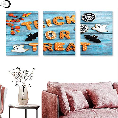 J Chief Sky Vintage Halloween Abstract Painting Trick