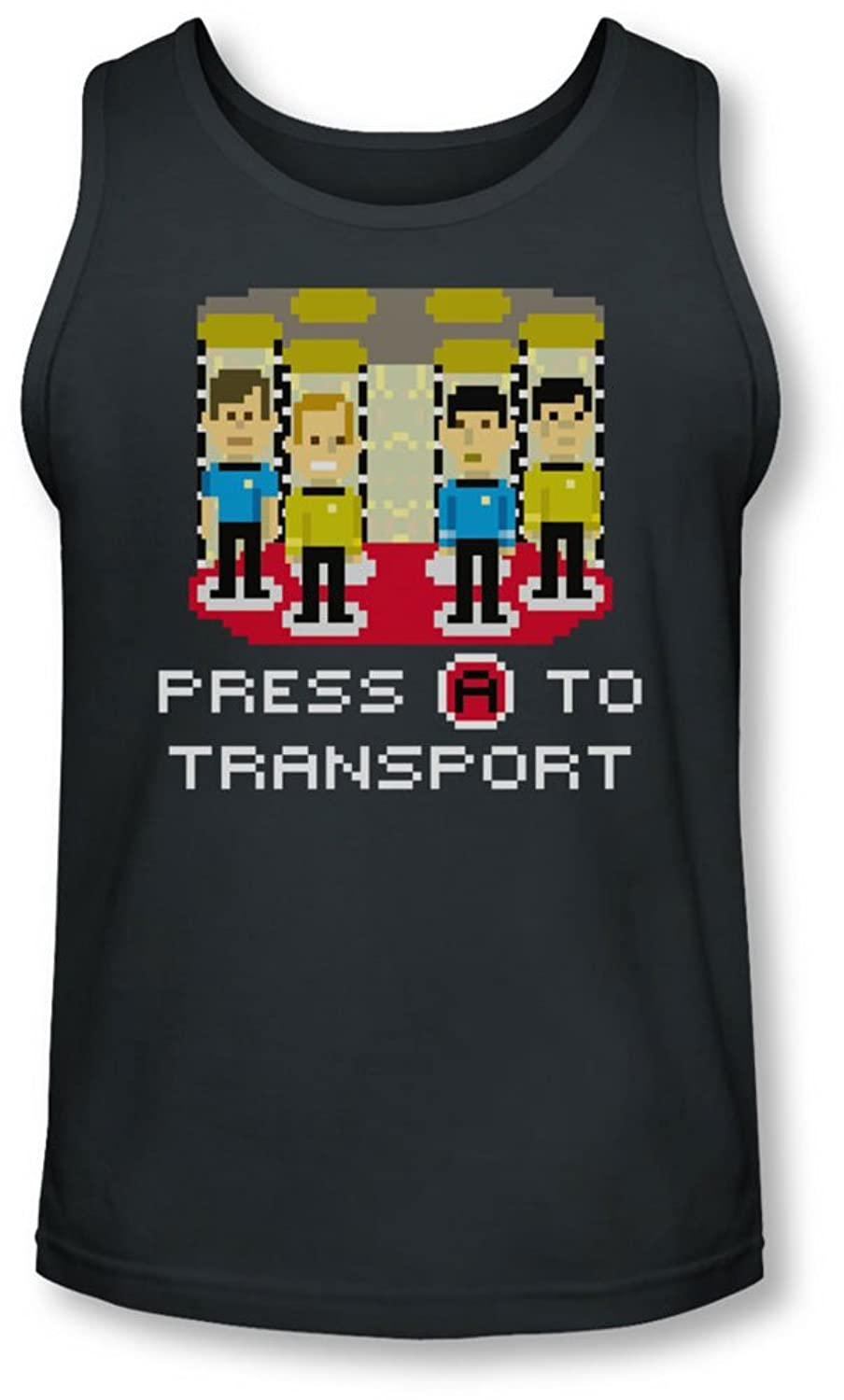 Star Trek - Mens Press A To Transport Tank-Top