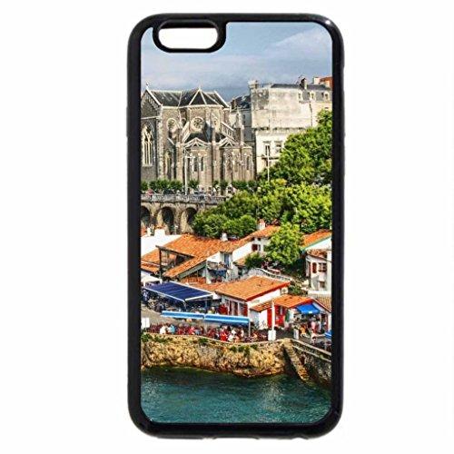 iPhone 6S / iPhone 6 Case (Black) inner city harbor