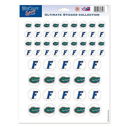 Florida Vinyl (NCAA University of Florida Vinyl Sticker Sheet, 8.5