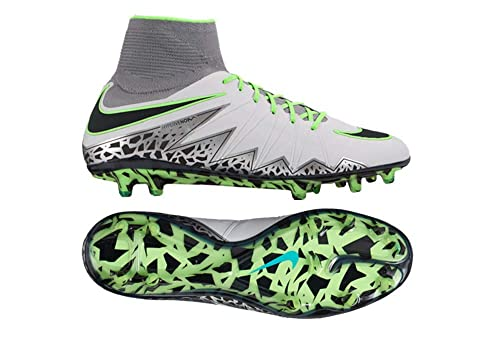 promo code fbb19 c394d Image Unavailable. Image not available for. Color  Nike Hypervenom Phantom  II FG Pure Platinum-Black-Ghost Green ...