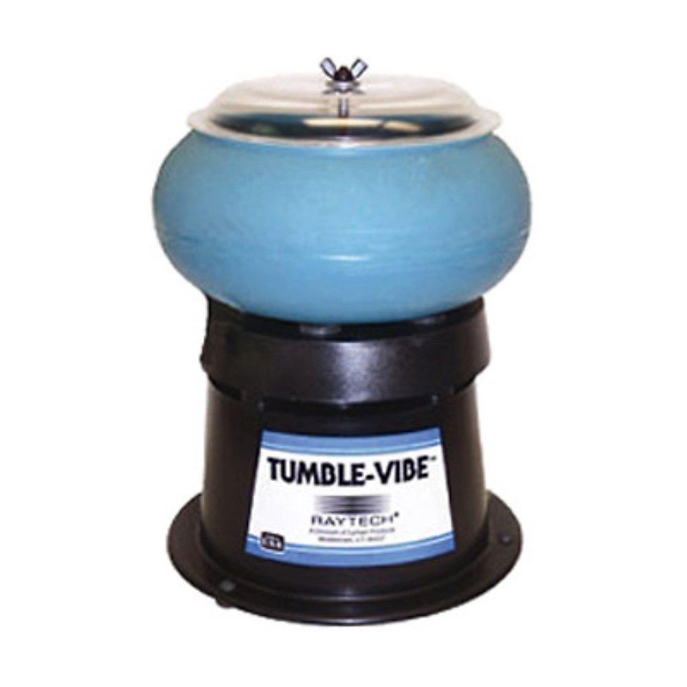 RAYTECH 23009R Vibratory Tumbler System,0.10 cu.ft.