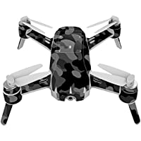 Skin For Yuneec Breeze 4K Drone – Black Camo | MightySkins Protective, Durable, and Unique Vinyl Decal wrap cover | Easy To Apply, Remove, and Change Styles | Made in the USA