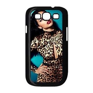 Samsung Galaxy S3 Cases Brazilian Model Adriana Lima Cute for Girls, Case for Samsung Galaxy S3 Mini for Men Bloomingbluerose, {Black}