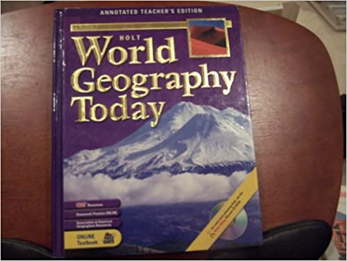 Geographical Cultures Holt World Today