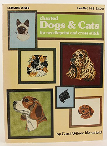 Charted Dogs & Cats For Needlepoint And Cross Stitch. (Leaflet #148). (Spaniel Needlepoint)