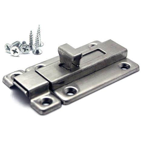 Amazon.com Hometu Stainless Steel Door Latch Sliding Lock